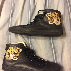 Gucci Shoes - Gucci leather high top